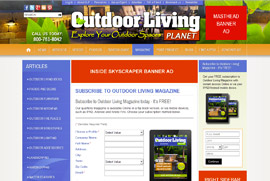 About Outdoor Living Planet